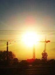 Erected Sunset