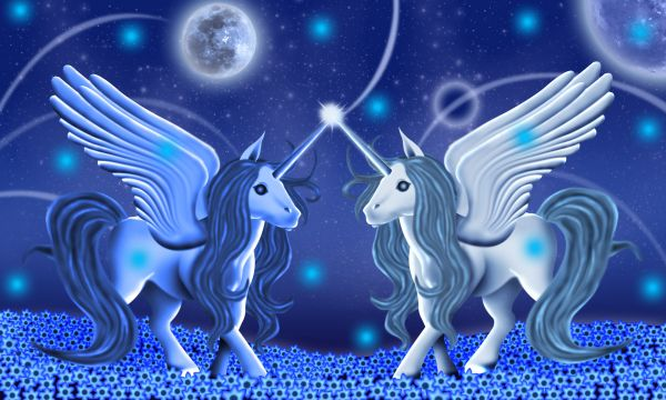 Beautiful unicorns