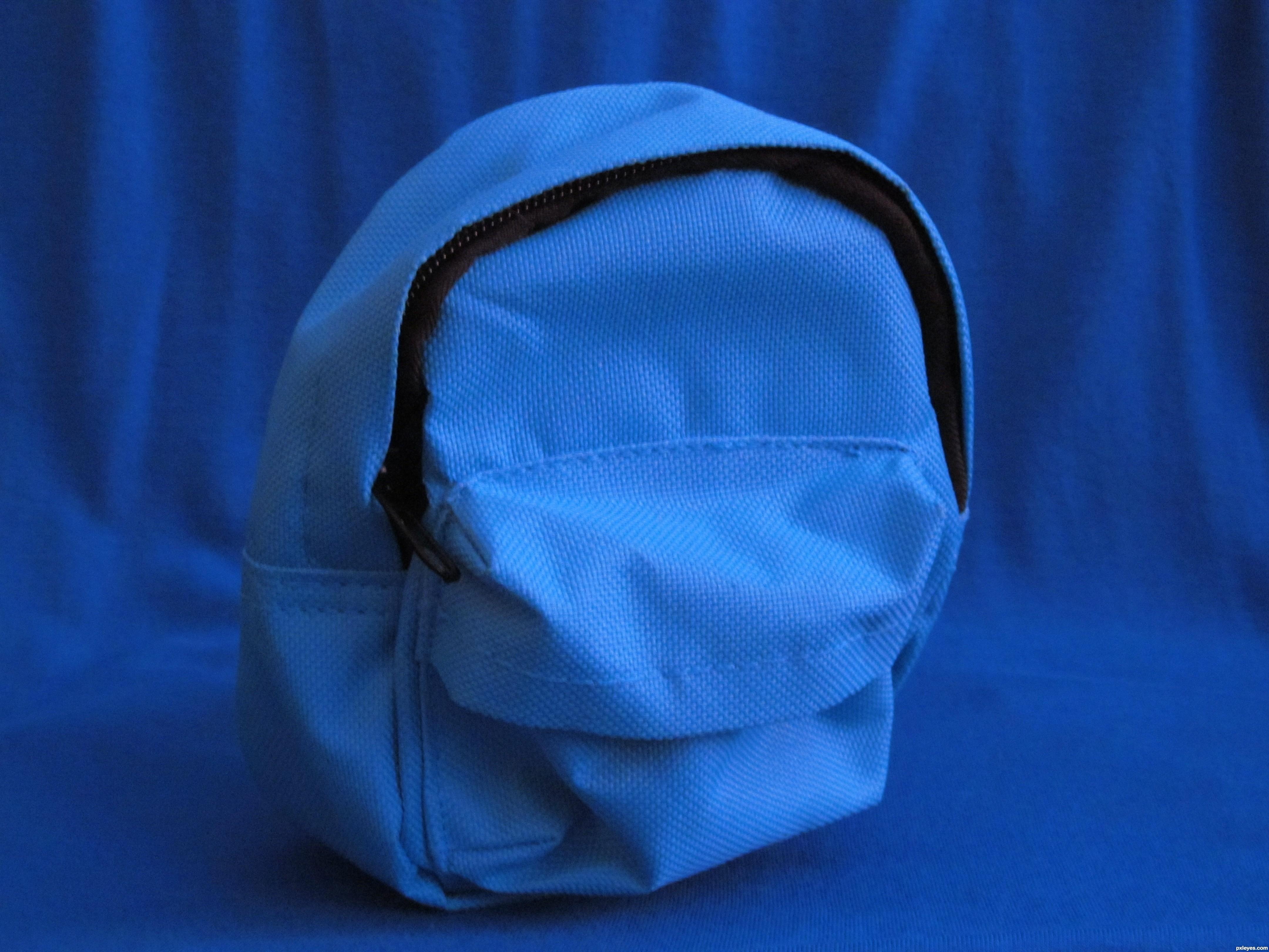Petite Blue Rucksack