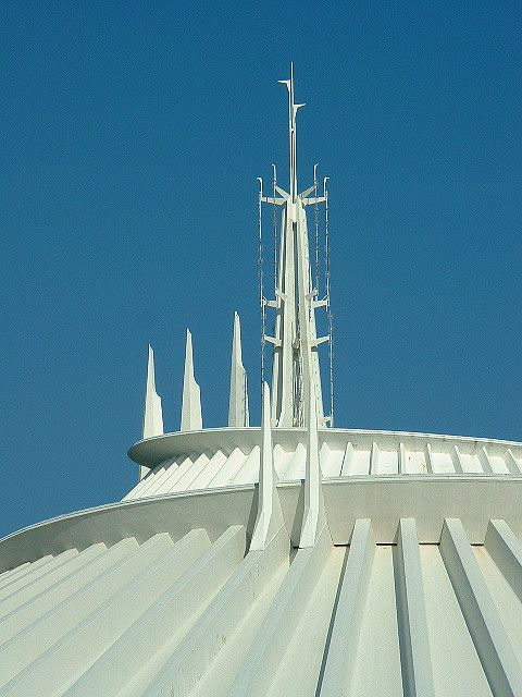 Space Mountain Spires