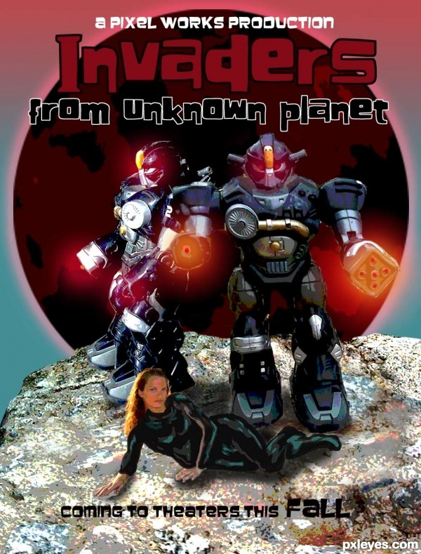 Invaders From Unkown Planet