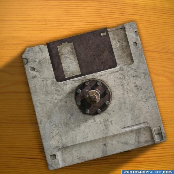 Old floppy.