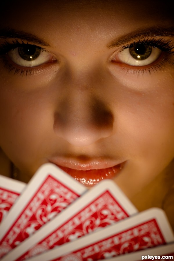 Poker Face by Kate Lederer