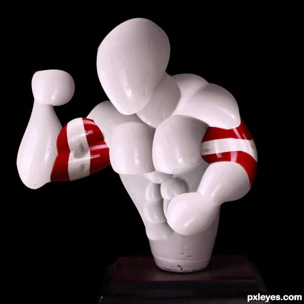 strong bowler