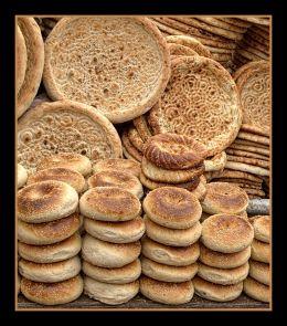 Uyghur Bread Cart