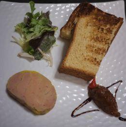 The ideal companion for duck foie gras