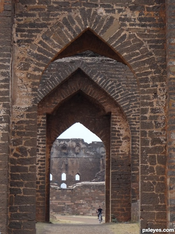 bidar fort bricks