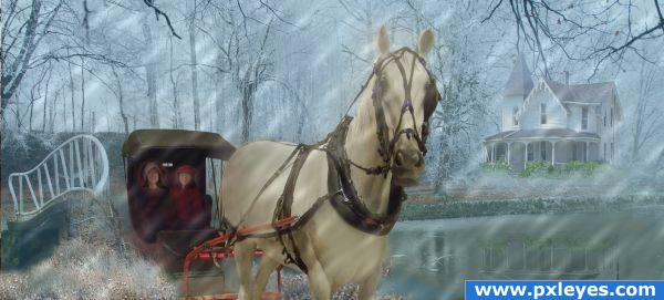 A Fine Day for a Sleigh Ride