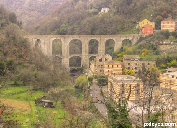 historic aqueduct