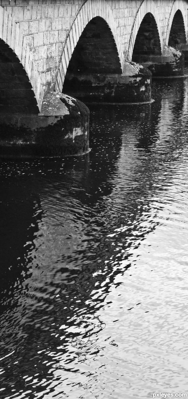 wavy reflection
