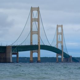 Mackinac Bridge Picture