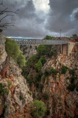 Aradaina Bridge - Crete Greece