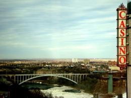 Rainbow Bridge - Niagara Falls, Canadian Side