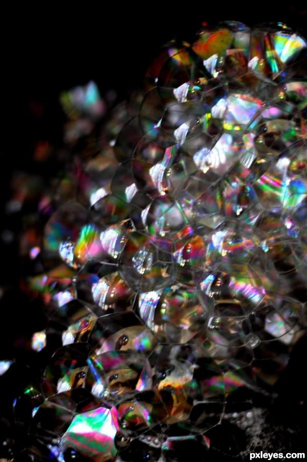 A lot of bubbles