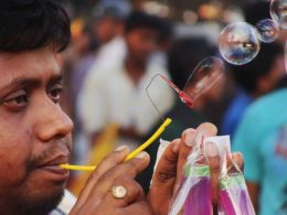 The Bubble Seller
