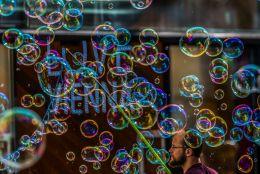 Bubble man Picture