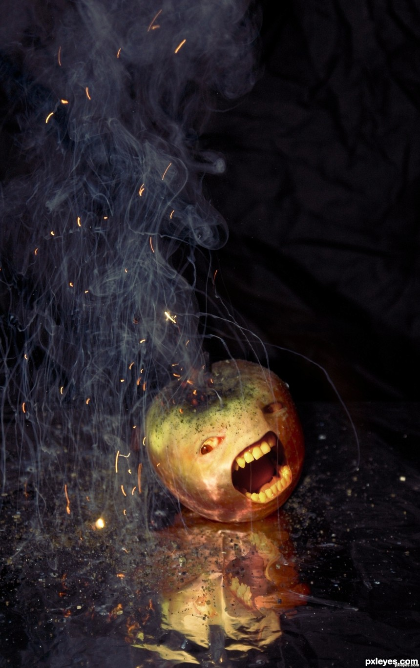 Apple Fear photoshop picture)