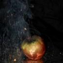 burning apple photoshop contest