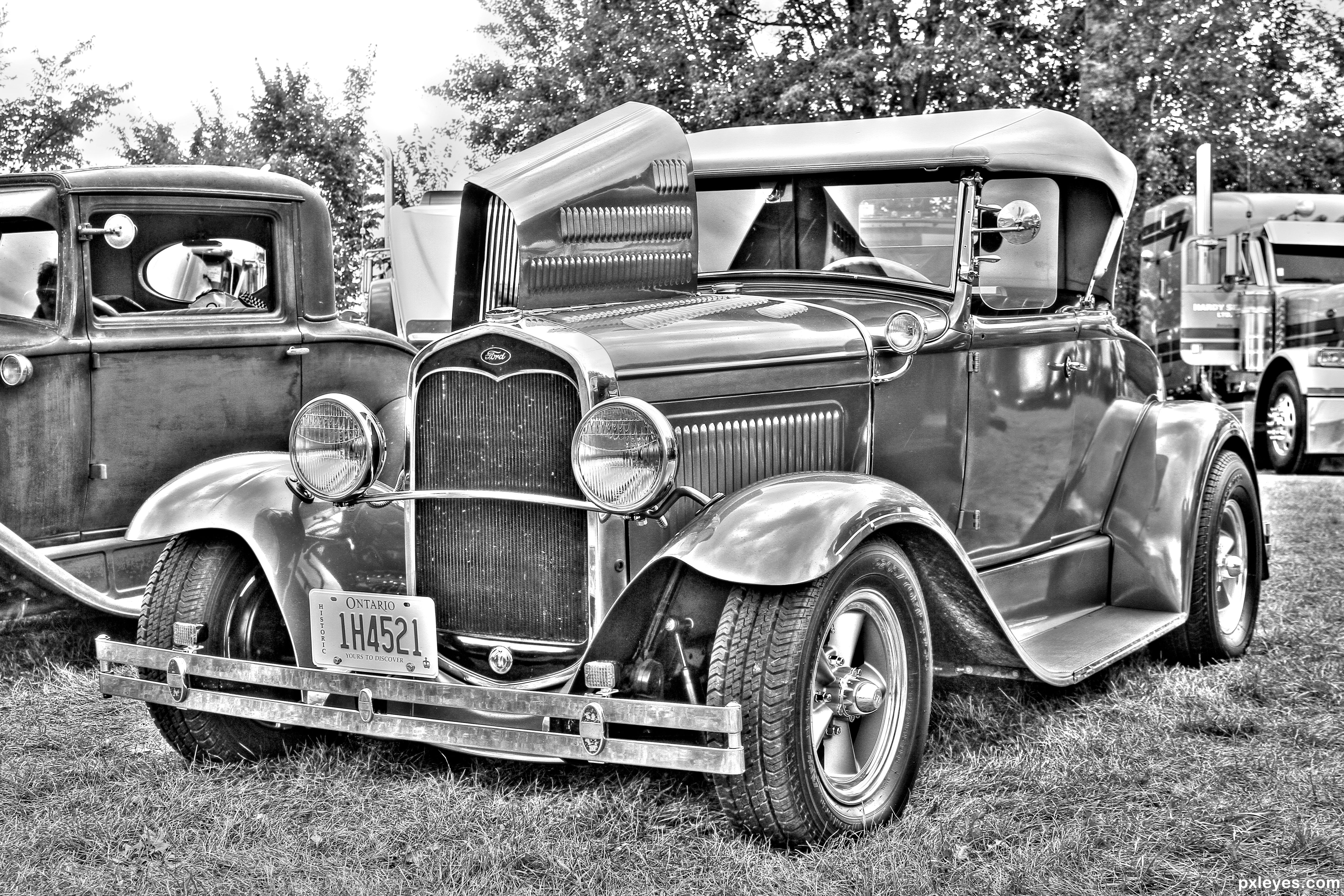 Old Car picture, by chieflong for: bw cars photography contest ...