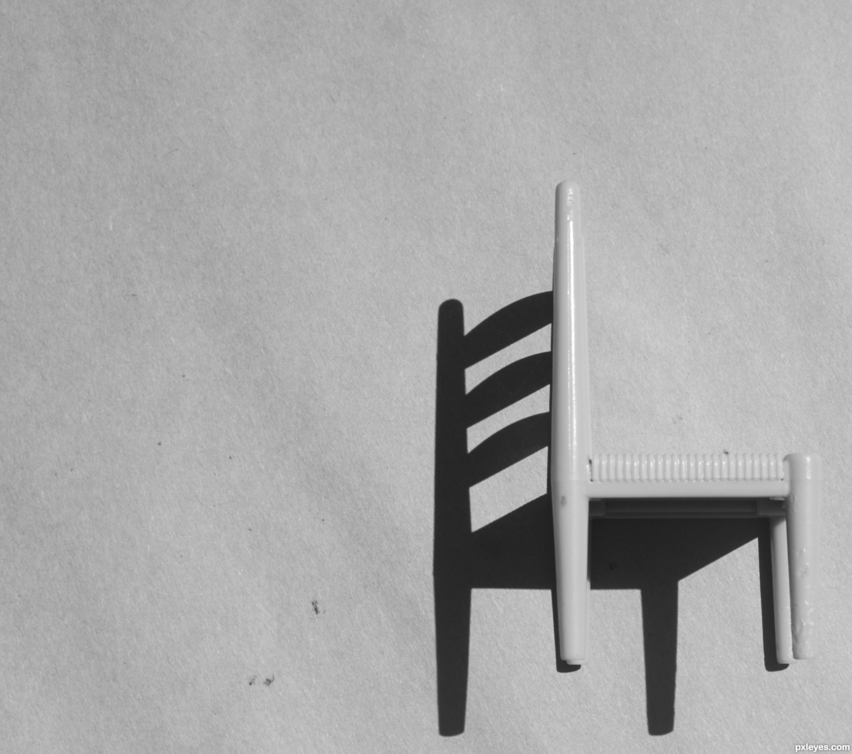 Black and white chair photography - Shadow Or Chair Created By Frelbow