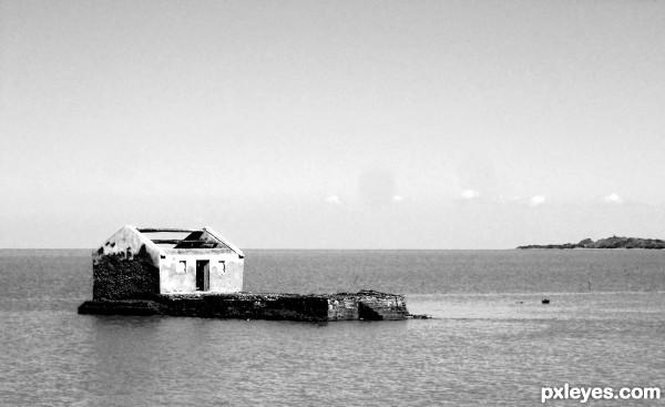 Alone in the Sea....