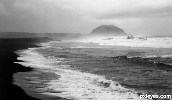 Black Sands of Iwo Jima