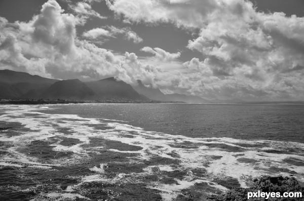 On South Africa coast