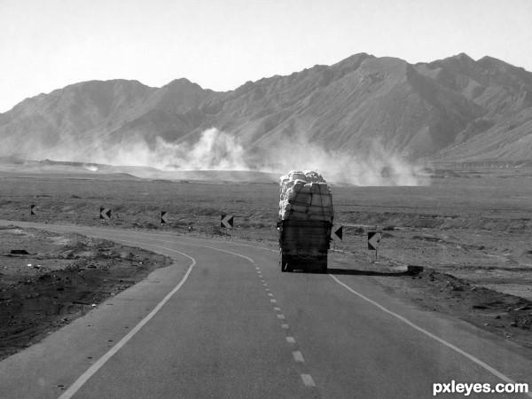 Road to Hurghada