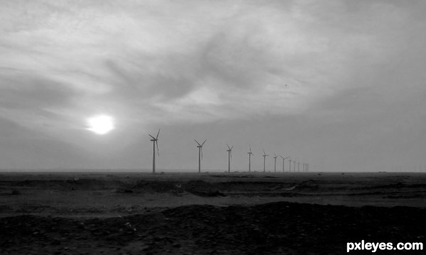 desert before storm