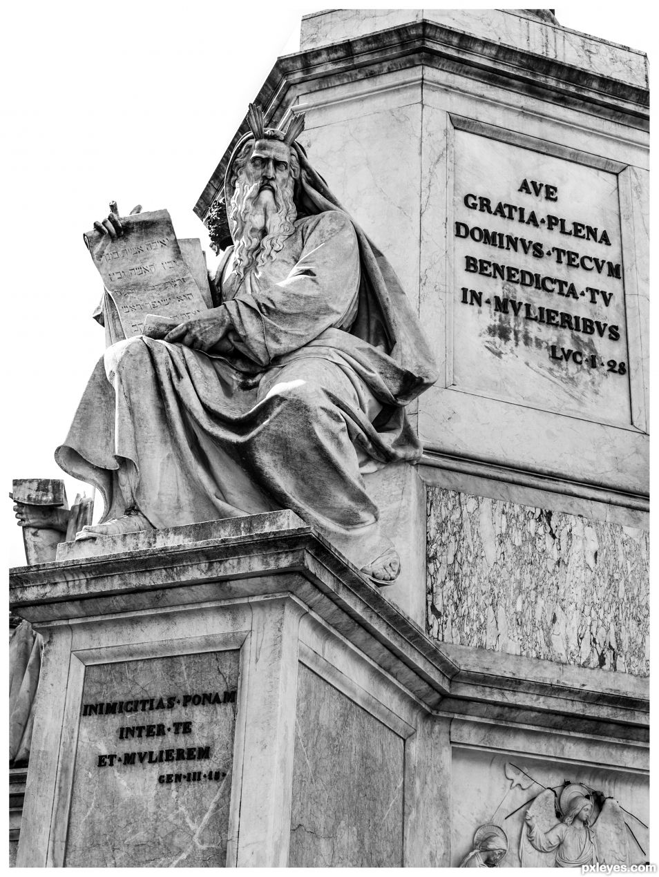 Patriarch Moses by Jacometti