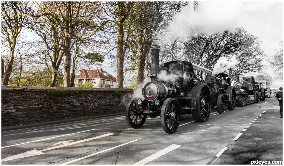 Steam Convoy