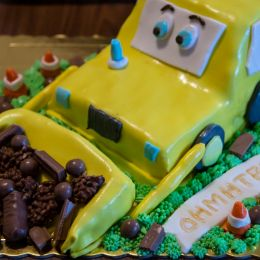 The Buldozer Cake Picture