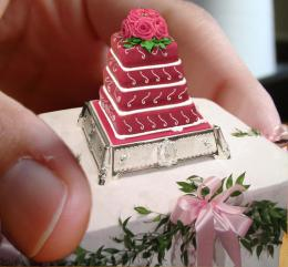 Mini Wedding Cake Picture