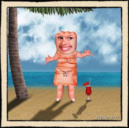 Mrs. Knucklehead Goes to Hawaii