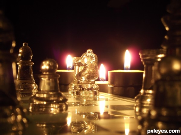 Chess By TeaLight