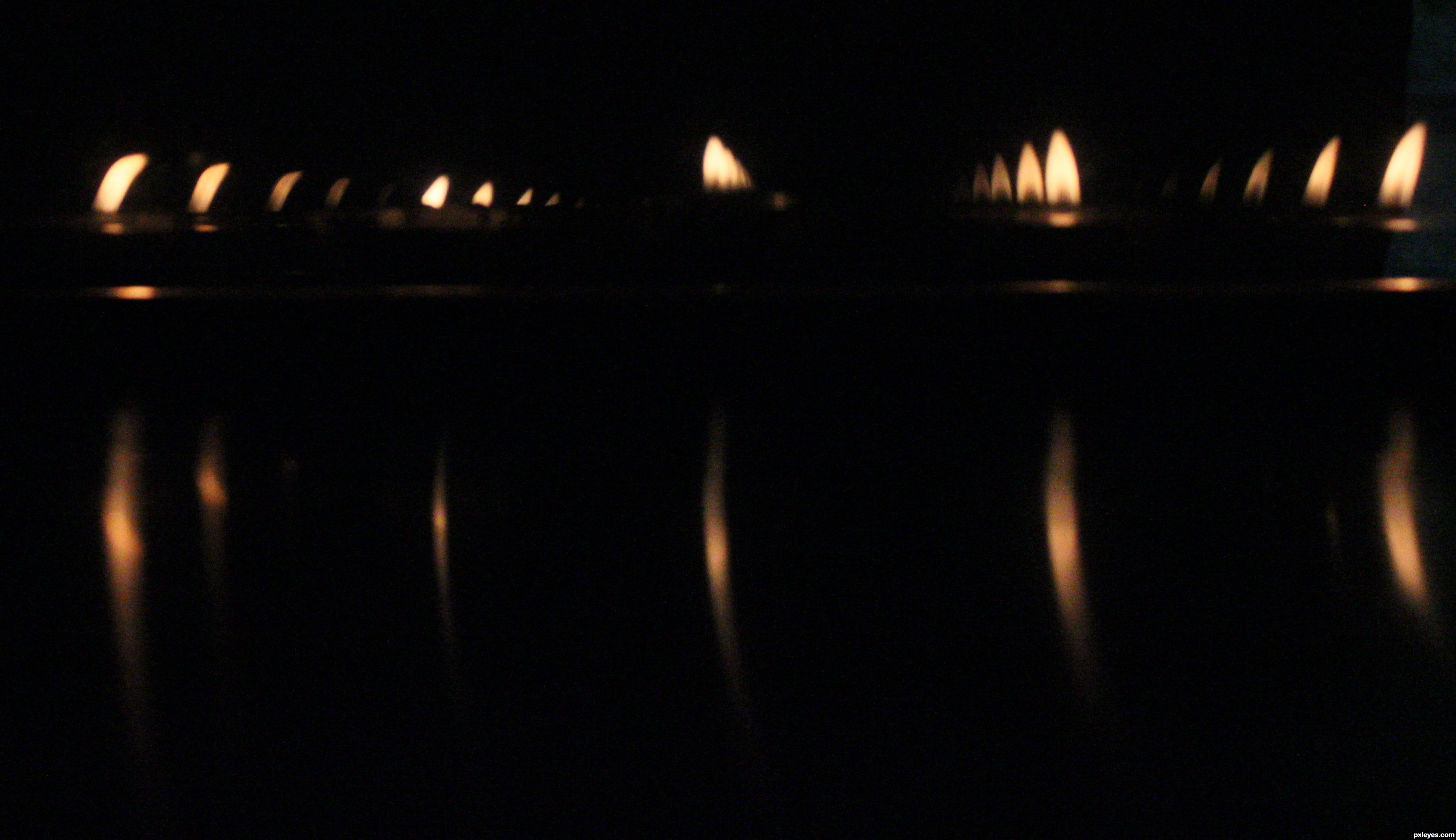 Beauty of lit candles picture, by teecee for: candles photography ...