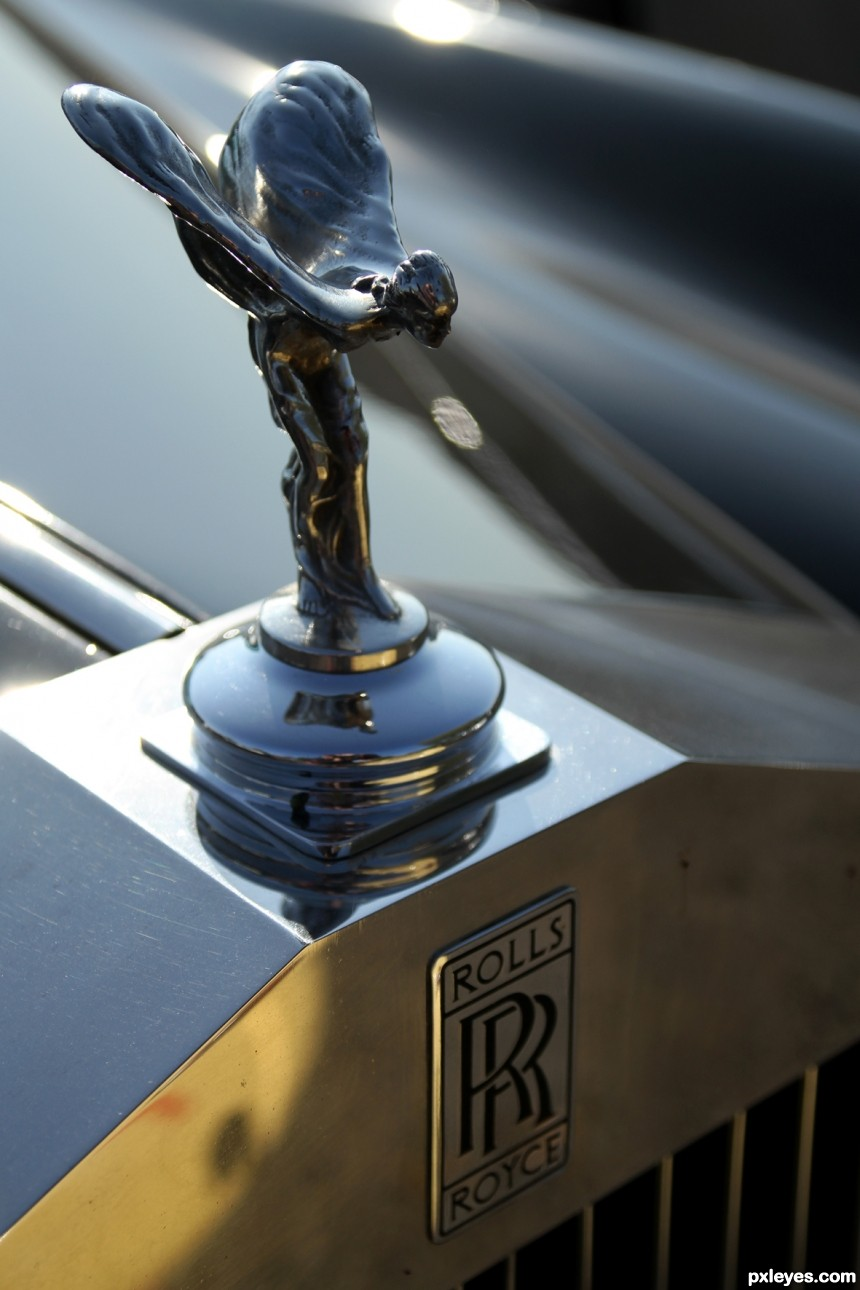 The spirit of ecstasy photoshop picture)