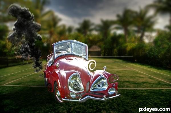 angry car!