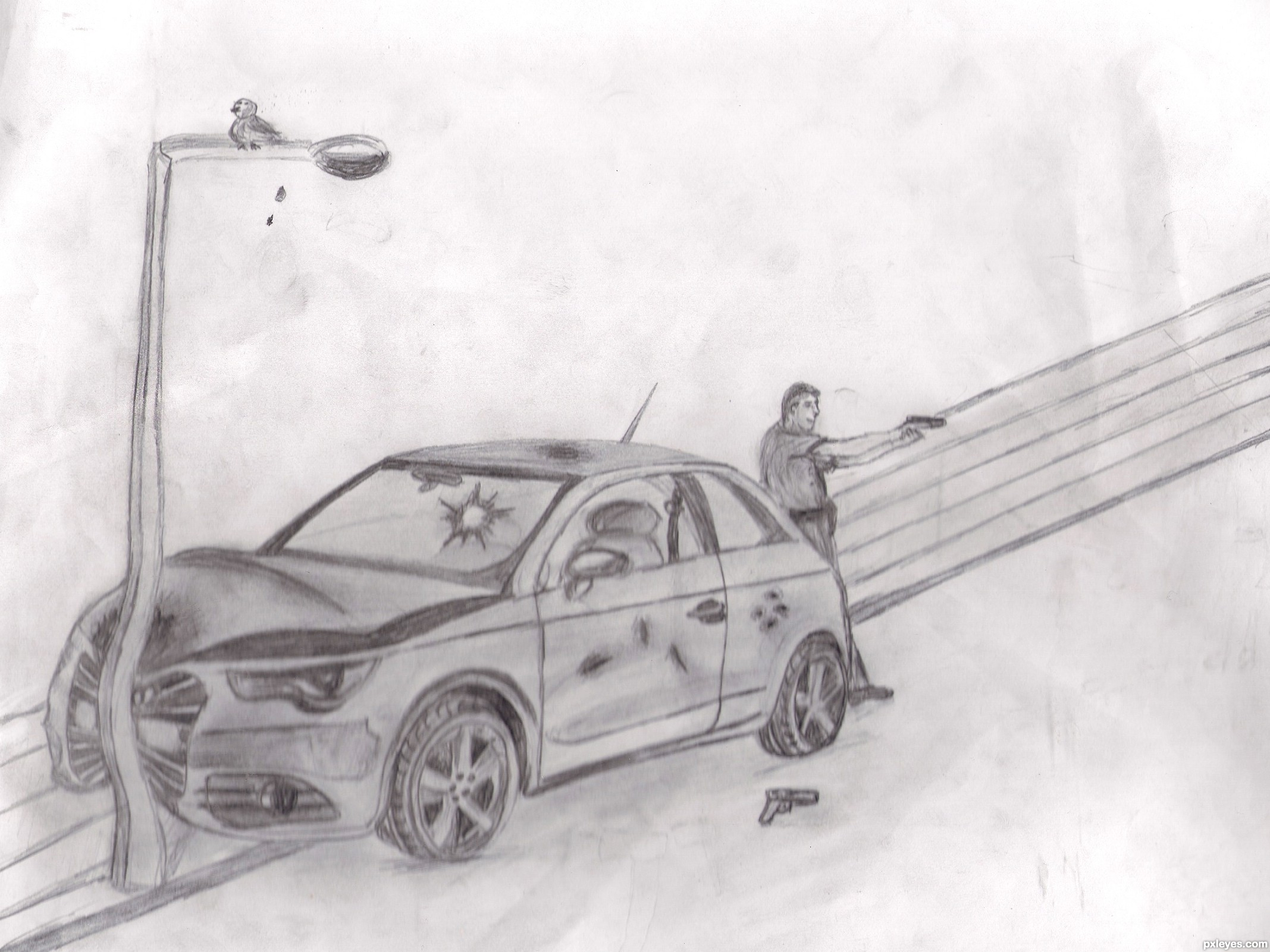 Is it worth it ? picture, by Agnieszka for: car revenge drawing ...