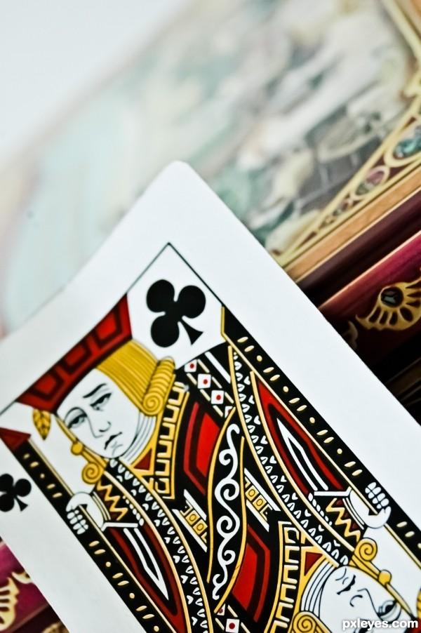 Card alone