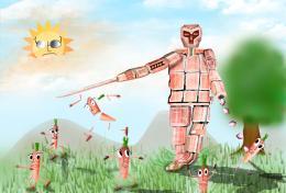 Carrot Robot