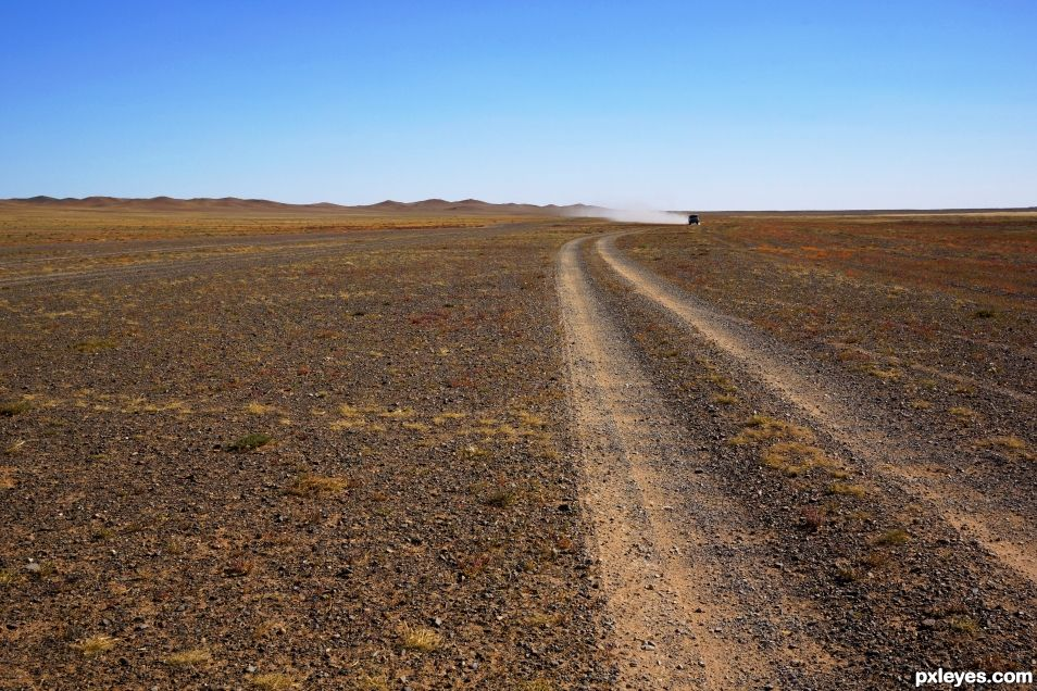 On the Mongolian Steppes