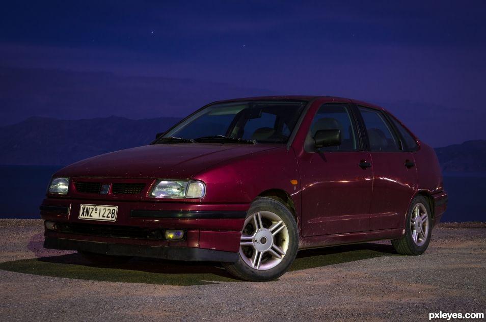 My Car @ night - Seat Cordoba 1995 - 380K + km