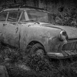 AbandonedBeautyOpelRekord1958