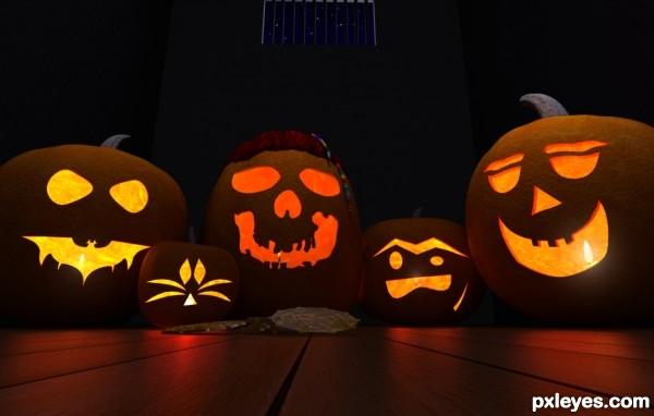 Pirates Pumpkins