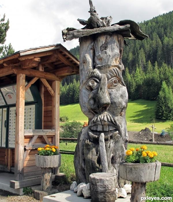 Tyrolean Totem