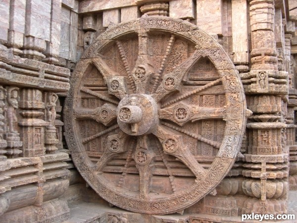 the wheel of the suntemple......