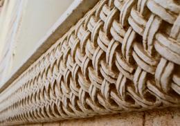 Limestone carvings