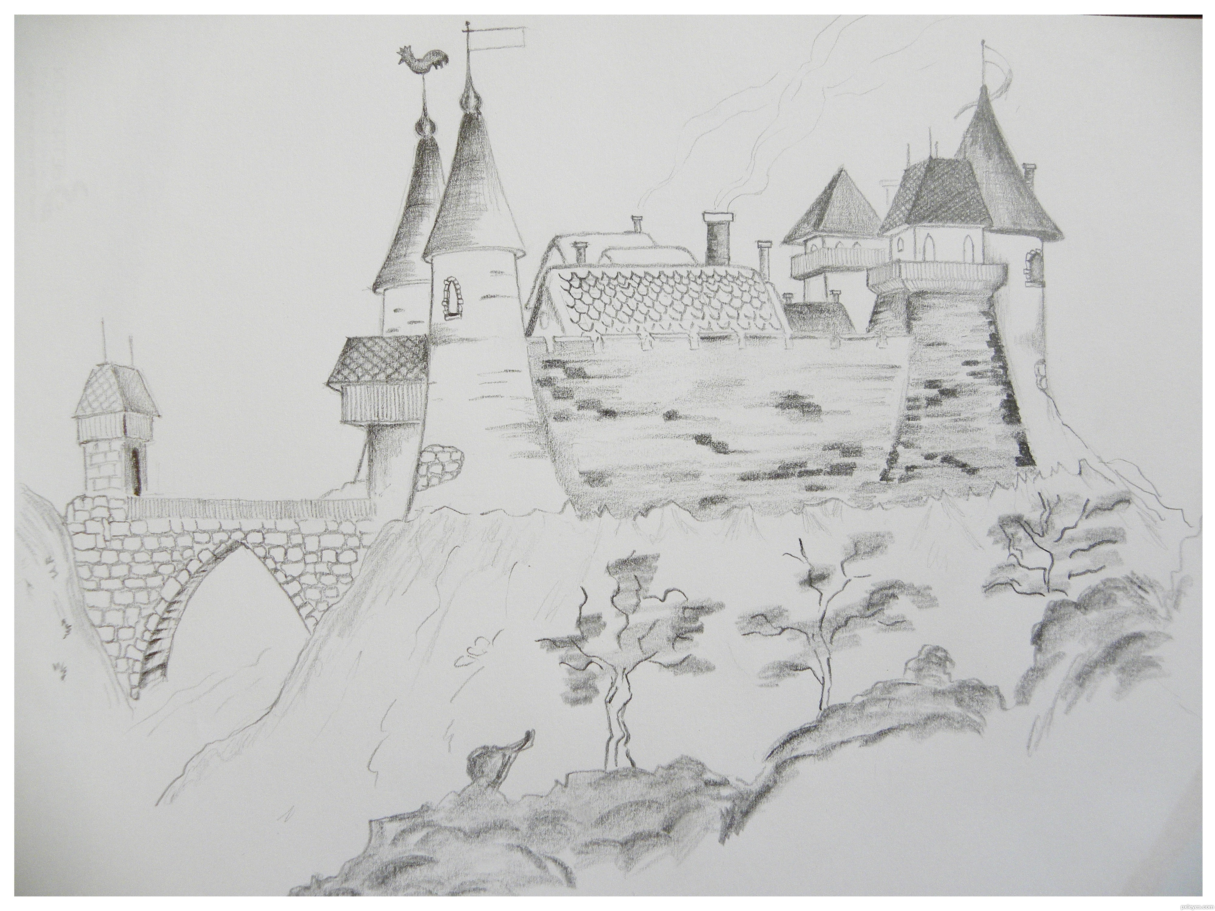 Castles Drawing Contest (18996), Pictures Page 1 - Pxleyes.com