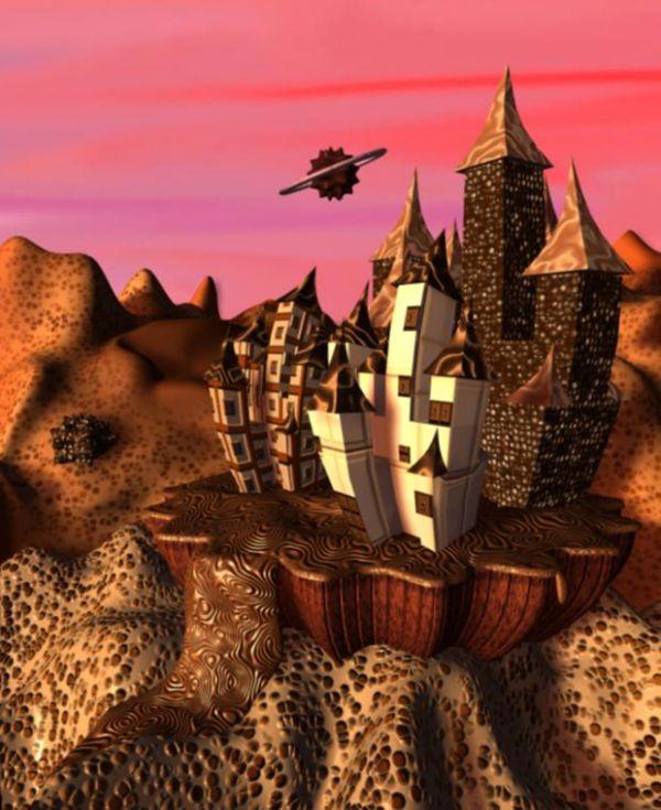 Choco castle